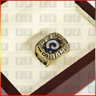 Copper Christmas 1979 St Louis Rams Championship Ring Men Gift+Wooden Box