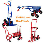 Wheels Stair Climber 150kg Heavy Duty Climbing Flat Bed Hand Truck Sack Trolley