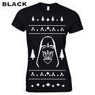 358 Vader Christmas Womens T-Shirt skywalk funny xmas gift ugly sweater present