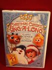 Crhistmas Classics Sing-a-Long  DVD from Original Animated TV Shows NEW SEALED