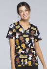 Cherokee V-Neck Star Wars Scrub Top TF625-SRGG (GOOD GUYS) $24.99 USD on eBay