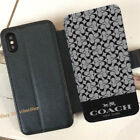 New! Wallet~Coach!6958 iPhone XS Max XR 7+ 8 Plus Cases Samsung S9+ Note 9 Cases