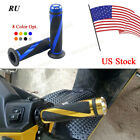 """A Pair Motorcycle Sport Dirt Bike 7/8"""" Handle Grips Rubber For BMW Buell Aprilia"""
