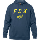 FOX Racing Legacy Pullover Fleece Hoodie Men's Navy Sweater Brand New 20555-007 $35.0 USD on eBay