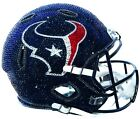 NEW NFL Football Helmet Made with Swarovski� Crystals and Case - ANY TEAM! OBO