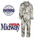 NEW WARM MidwayUSA Men's Hunter's Creek Coveralls Realtree Max1 & AP Snow ONE PCCoveralls - 177869