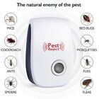 Electronic Ultrasonic Pest Reject Mosquito Cockroach Mouse Killer Repeller [USA]