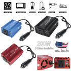 200W Car Power Inverter Charger Adapter 12V DC to AC 110V with 2.1A+1A Dual USB