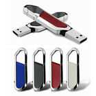 2TB 128GB Metal Key Chain USB 2.0 Flash Drive Memory Stick Pen U Disk Thumb PC