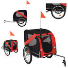 New Dog Bike Trailer Folding Pet Bicycle Cat Carrier with Drawbar Hitch Stroller