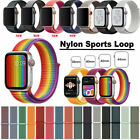 Kyпить Nylon Armband Loop Uhrenarmband Für Apple Watch Series 5/4/3/2/1 38/42mm 40/44mm на еВаy.соm