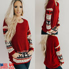 Women Mama Bear Plaid Pullover T Shirt Tops Casual Long Sleeve Blouse Tops Shirt