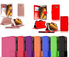 For SAMSUNG GALAXY A3 A5 A6 A7 A8 A9 2018 Leather Book Flip Stand Case Cover