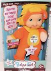 "GOLDBERGER ""Baby's First"" Sing & Learn ABCs & 123s 11 inch washable Doll, Lion"