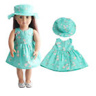 Doll Clothes 18 Inch 7 Styles Dresses Outfits American Girl Doll Accessories Set