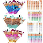 20pcs set unicorn diamond beauty makeup brushes eyebrow eyeshadow soft brush kit