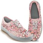 NIB Bradford Exchange Women's Lena Liu Breast Cancer Lace Up Sneakers Sizes 5-10
