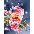 Full Drill 5D Diamond Painting Embroidery Home Decor DIY Xmas With Drawing Tools