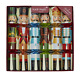 "Robin Reed English Holiday Christmas Crackers Favors, Nutcracker Figure, 6pc 12"" photo"