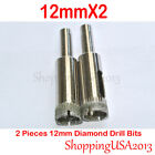 10mm-60mm All Size 2 Pieces Diamond Drill Bits Hole Saw Cutter Tools Sets