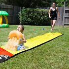 Giant Surf 'N Water Slide Fun Lawn Water Slides Pools For Kids PVC Outdoor Toys