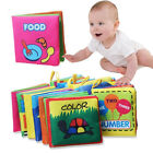 Kids Intelligence Development Cloth Books Child Learning Baby Early Education A