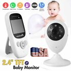 Video Baby Monitor Camera Intercom 2.4 Digital Wireless Night Vision LCD Play MA