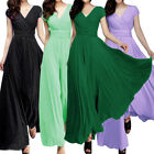 Women's Long Formal Prom Dress Cocktail Party Gown Evening Bridesmaid Dresses