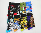 Star Wars The Last Jedi fashion Funny cotton socks men Crew long happy socks $2.99 USD on eBay