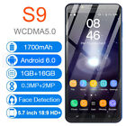 5.7 Inch S9 Unlocked Smartphone Mobile Cell Phone Dual Sim Android 6.0 Au Plug
