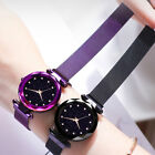 New Luxury Womens Starry Sky Watch Magnet Straps Buckle Fashion with Star Watch image