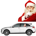 Funny Santa Claus Car Window Decal Easy Install Diffuses Sunlight 14x15.75 Inch