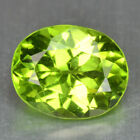 2.09 CTS  FINE QUALITY PARROT GREEN NATURAL PERIDOT GEMSTONE FROM PAKSITAN