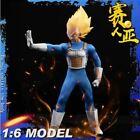 1/6 Dragon Ball Z Sun Goku Super Saiyan or Vegeta Male Custom Figure Outfit Set