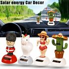 Solar Powered Dancing Animal Swinging Cactus Horse Soldier Dancer Toy Car-Decor