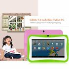 "7"" INCH KIDS ANDROID 4.4 TABLET PC QUAD CORE WIFI HD CHILD CHILDREN 8GB IO"