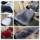 Real Australia Sheepskin Long Wool Front & Rear Car Seat Covers Universal Fit $15.99 USD on eBay