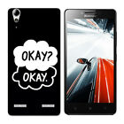 Soft TPU Case For Lenovo Silicone Protective Phone Back Cover Skins Letters