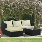 Garden Furniture Outdoor Rattan Corner Sofa & Table Set With Cushions *sale*