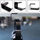 Acrylic Headphone Stand Hanger Hook Tape Under Desk Dual Headset Mount Holder