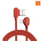 MCDODO 90 Degree Elbow Lightning Charging Cable Apple iPhone X 8 7 6 6s Plus XS