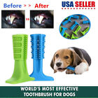 Pet Dog Toothbrush Brushing Stick Teeth Cleaning Chew Toy For Dogs Pet Oralcare