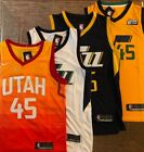 Donovan Mitchell 45 Utah Jazz Stitched Swingman Jersey Mens NWT All Colors