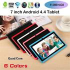 """7"""" Inch 4g Tablet Pc Android 4.4 Quad Core Dual Camera Touch Bluetooth Wifi Hd"""