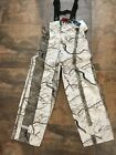 HUNTWORTH UNLINED WATERPROOF SNOW CAMO BIB OVERALLS #81705-SCPants & Bibs - 177873