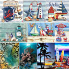 Full Drill Beach View DIY 5D Diamond Painting Cross Stitch Kits Home Decor Art $8.99 USD on eBay
