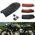 Motorcycle Cafe Racer Flat Brat&Hump Saddle Seat Cushion For Honda Suzuki Yamaha $26.89 USD on eBay