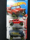 Hot Wheels 2-HW Rescue New in Sealed Packages Humvee & Aero Pod 1:64