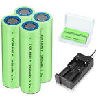 Kyпить Batteries 2600mAh 18650 Rechargeable 3.7V Flat Top RC Battery With Case /Charger на еВаy.соm