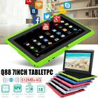 """7"""" Tablet Pc Android 4.4 Camera Quad-core 4gb Wifi Google Dual Card Kids Child"""